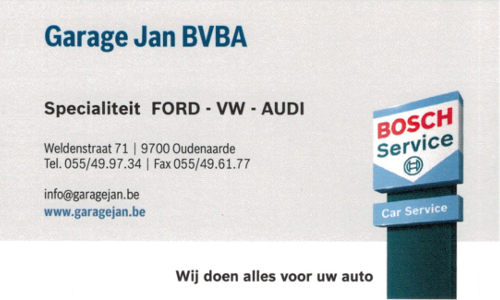 Garage Jan BVBA